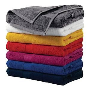 Ręcznik MALFINI, szaro-czarny, 50x100 cm