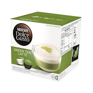 NESCAFÉ Dolce Gusto Green Tea Latte Capsule - Box of 16