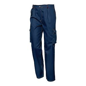 Spodnie SIR SAFETY SYSTEM POLYTECH, niebieskie, rozmiar 58
