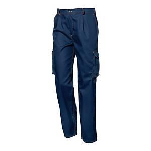 Spodnie SIR SAFETY SYSTEM POLYTECH, niebieskie, rozmiar 60