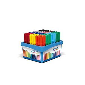 Pack de 108 rotuladores GIOTTO Turbo maxi colores surtidos