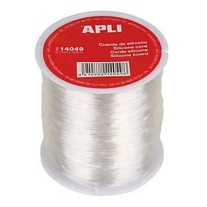 Bobina de cuerda Apli - silicona - 0,7 mm x 100 m