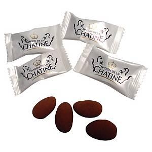 Amande chocolatée Chatine - paquet de 400