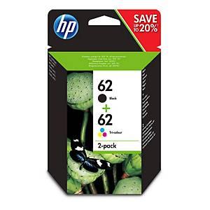 Cart. D encre HP No. 60 (N9J71AE) pour env. 200 pages, noir, 165 pages couleur