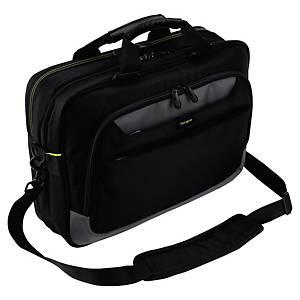 Laptoptasche Targus TCG455EU, City Gear, bis 14 Zoll, Polyester, schwarz/grau