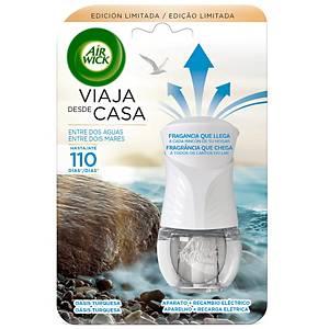Difusor ambientador eléctrico Air Wick con recambio - 19 ml - aroma Life Scents