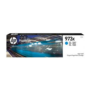 Cartouche jet d'encre HP 973X (F6T81AE) PageWide, cyan