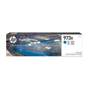 Blækpatron HP 973X F6T81AE, 7.000 sider, cyan