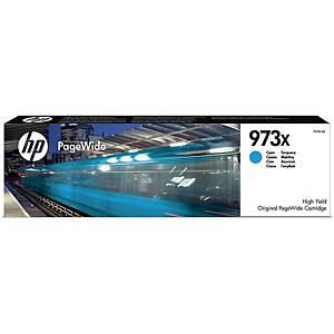 Tintenpatrone HP F6T81AE - 973X, Reichweite: 7.000 Seiten, cyan