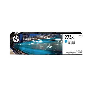 HP 973X F6T81AE mustesuihkupatruuna syaani