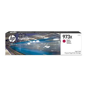 Blækpatron HP 973X F6T82AE, 7.000 sider, magenta
