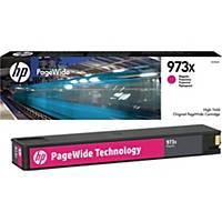 Tintenpatrone HP F6T82AE - 973X, Reichweite: 7.000 Seiten, magenta