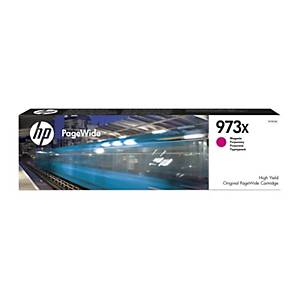 HP F6T82AE cartouche jet d encre PageWide nr.973X rouge [7.500 pages]