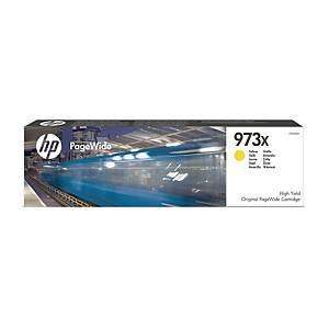 Blækpatron HP 973X F6T83AE, 7.000 sider, gul