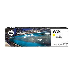 HP F6T83AE cartouche jet d encre PageWide nr.973X jaune [7.500 pages]
