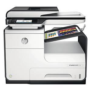Imprimante multifonction jet d encre couleur HP PageWide Pro 477DW