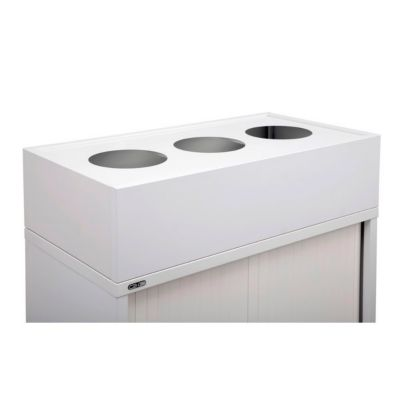 Rapidline Planter Box 1200mm Wide Including Metal Drip Tray White Each