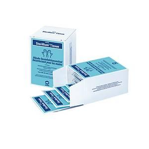 Tücher für Händedesinfektion Sterillium, Packung à 15 Tücher, 63x58mm