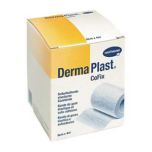 Fixierbinde DermaPlast CoFix, weiss, 6 cmx4 m