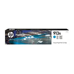 HP 913A (F6T77AE) inkt cartridge PageWide, cyaan