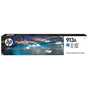 HP 913A F6T77AE mustesuihkupatruuna syaani