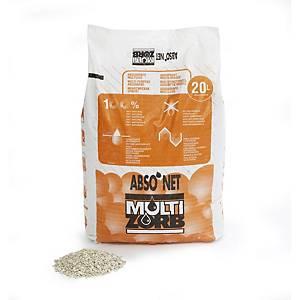 20Ltr Bag Multizorbabsorbent Granules 14kg.