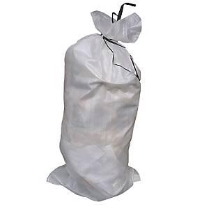 Polypropylene Sandbag 800x330mm White - Pack Of 50