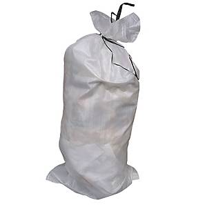 Polypropylene Sandbag 800x330mm White - Pack Of 50