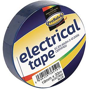 Electrical Insulation Tape 19mm 33m Blue