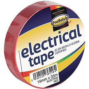 Electrical Insulation Tape 19mm x 33m Red