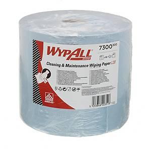 Rolo Jumbo Wypall - 118 m - Folha dupla - azul