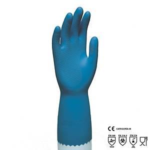 Par de guantes químicos Rubberex RNU9 - nitrilo - talla 9