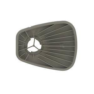 Boîtier de filtre pour couvercle à filtre 501, 3M 603, gris, 1 paire