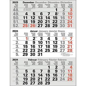 Tischkalender 2021 Bühner M3TKM, Ersatz, 3 Monate / 1 Seite, 11 x 22cm