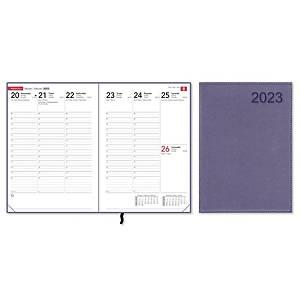 CC 2340 Compact Trend pöytäkalenteri 2020 A5, metallic fuchsia