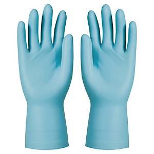 KCL Dermatril 743 nitril wegwerphandschoenen, maat 7, 50 stuks