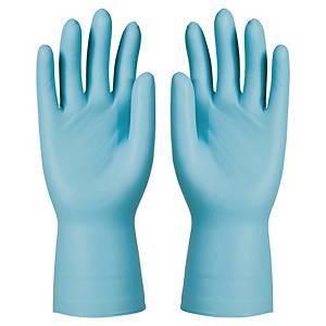 KCL Dermatril 743 nitril wegwerphandschoenen, maat 9, 50 stuks