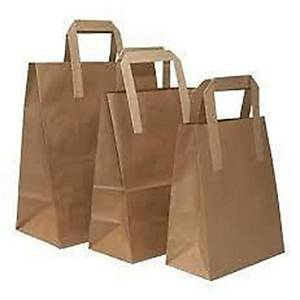 Kraft Paper Bag Brown 10X8.5