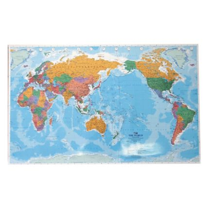 Micador world map wall chart 101 x 63cm each while stocks last gumiabroncs Images