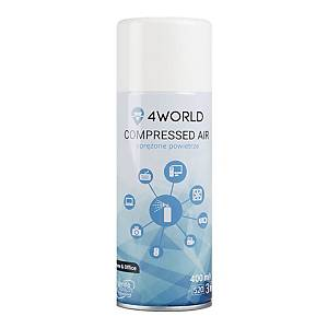 4WORLD GAS DUSTER SPRAY 400ML
