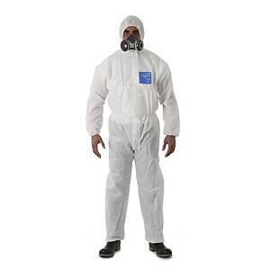 Protective suit, Microgard 1500 Plus model 111, size 2XL, white