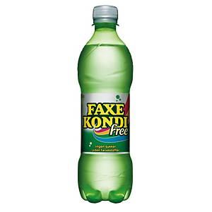 Sodavand Faxe Kondi Free, 500 ml, pakke a 24 stk.