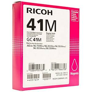Ricoh ink cartridge 405763 for GC-41 magenta