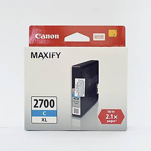 CANON PGI-2700XL INK CARTRIDGE -  CYAN
