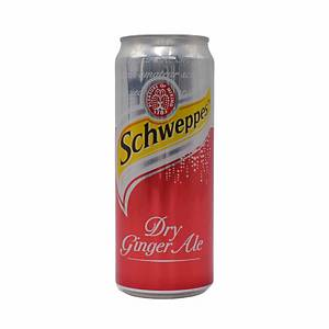 Schweppes Ginger Ale 320ml - Pack of 12