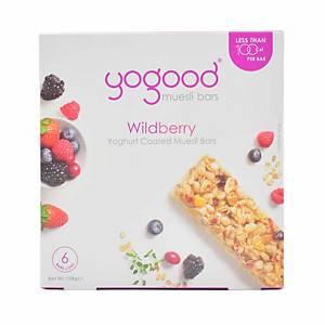Yogood Wildberry Muesli Bar 138g - Box of 6