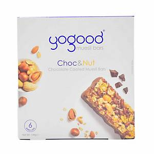 Yogood Chocolate & Nuts Muesli Bar 138g - Box of 6