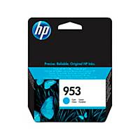 Tintenpatrone HP F6U12AE - 953, Inhalt: 10ml, cyan
