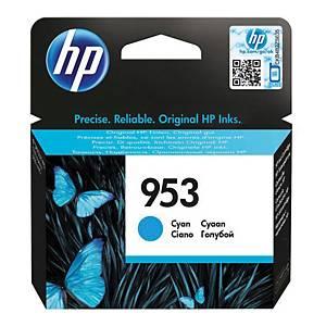 HP tintasugaras nyomtató patron 953 (F6U12AE) ciánkék