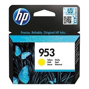 HP inkoustová kazeta 953 (F6U14AE), žlutá